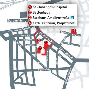Anfahrt Ihr Aufenthalt St Johannes Hospital Dortmund